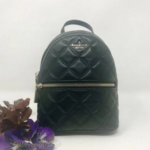 New Kate Spade Natalia Mini Backpack black
